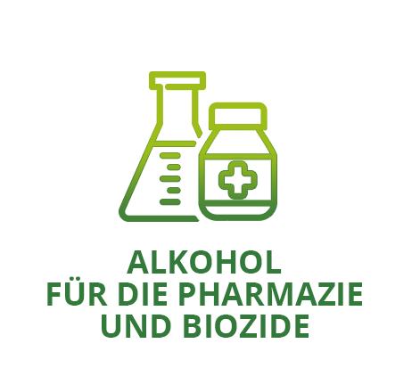 ALKOHOL FÜR DIE PHARMAZIE UND BIOZIDE