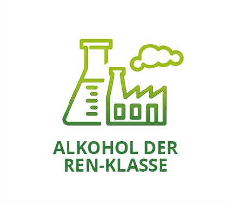 ALKOHOL DER REN-KLASSE