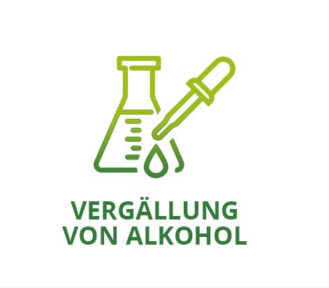 VERGÄLLUNG VON ALKOHOL